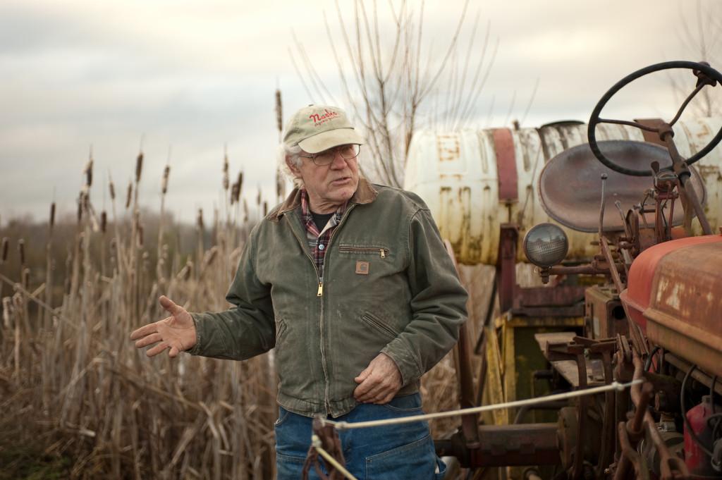 PCC Farmland Trust's first farm saved was Nash Huber's organic farm in Sequim