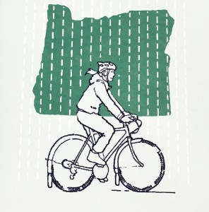 Riding in the Rain, Portland Zine